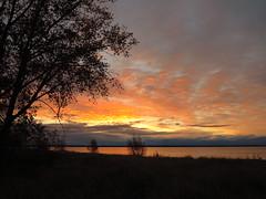 IMG_4353 Sunrise on Aronson Island, Escanaba (jgagnon63@yahoo.com) Tags: lakemichigan sunrise sky escanaba deltacountymi uppermichigan michigan upperpeninsula dawn firstlight morning littlebaydenoc escanabashoreline lakemichiganshoreline