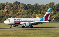 Eurowings D-AEWS pmb20-09472 (andreas_muhl) Tags: 15102018 a320 avis daews eddh eurowings ham hamburg sonderlackierung aircraft airplane aviation planespotter planespotting