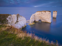 View To Infinity (Wizard CG) Tags: beautiful coast cliffs colour color clouds sun set path chalk dorset dawn england famous golden hour geology horizon iconic jurassic landscape long exposure limestone natural old harry rocks purbecks south west sea seascape sky sunrise tide epl7 unesco world heritage site sunset water ocean rock