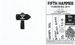 FIFTH HAMMER CROWLER (THERAPY DOG) by Juren David for Fifth Hammer Brewing Co. (Label_Craft) Tags: beer beers craftbeer brew suds ale hops labels craft labelcraft beerlabel design illustration type fonts burp beerme brewery fifthhammer fifthhammerbrewing fifthhammerbrewingco therapydog therapy dog belgian blondeale blonde lic queens nyc