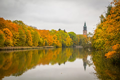 Aurajoki (Markus Heinonen Photography) Tags: turku åbo aurajoki joki river suomi finland europe syksy höst autumn ruska luonto nature reflection heijastus maisema landscape waterscape