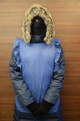 Slave maid in warm coat (Warm Clothes Fetish) Tags: slave maid warm coat hat niqab hijab girl boots sweat hot