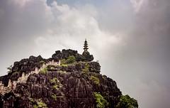 Dragon Mtn (Rod Waddington) Tags: vietnam vietnamese dragon mountain temple building buddhist landscape stairs rock asia