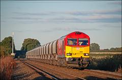 60007, Plumley (UK), 28/09/18 (bontybermo402) Tags: lostock tunstead plumley 6f05 dbcargo tug super60 brush 60007