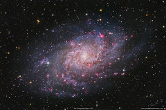 The Triangulum Galaxy M33 (Terry Hancock www.downunderobservatory.com) Tags: qhy168m qhy skywatcher150esprit skywatcher optolong space sky astronomy astrophotography astroimaging grandmesaobservatory cosmos