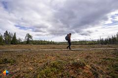 If the duckboards are dry (HendrikMorkel) Tags: sweden vålådalen åre gregoryoptic48 lightweightbackpack backpacking backpack gregory optic48backpack