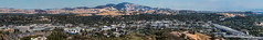 mt. diablo panorama 18 (pbo31) Tags: bayarea california nikon d810 color fall october 2018 boury pbo31 panoramic large stitched panorama ovverlook walnutcreek eastbay over mtdiablo roadway traffic highway 680 interchange green contracostacounty bart station