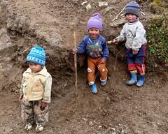 kids - Singalila National Park - Eastern Himalayas ~3200m (forest - Thanks - 6.7 M+ views ...) Tags: child mountains hillocks hills beautiful himalayas himalayan nepal napali