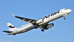 OH-LZM (AnDyMHoLdEn) Tags: finnair a321 oneworld egcc airport manchester manchesterairport 23l