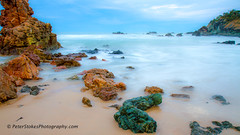 Flynns Beach, Port Macquarie at sunrise (Peter.Stokes) Tags: australia australian colour landscape landscapes nature outdoors photo photography river saltwater water portmacquarie newsouthwales au sunset sea light morning