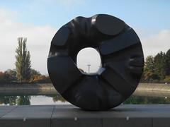 Volunteer Park | Black Sun (krhimself) Tags: seattle washington washingtonstate pnw pacificnorthwest park scenic nature streetphotography sculpture
