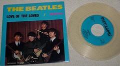 Beatles 45 RPM bootleg. Deccagone label. (ANpix51) Tags: beatles bootleg 45