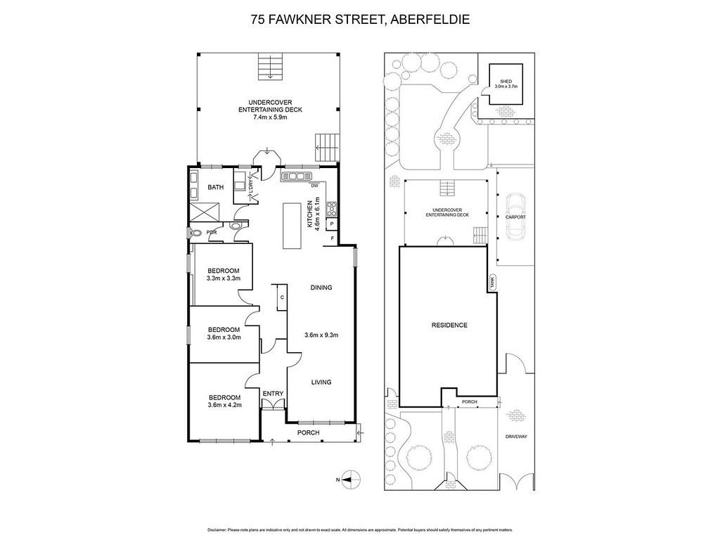 75 Fawkner Street floorplan