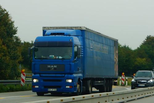 MAN TGA XLX E4 18.440 LLS-U - Packwell Verpackungsunternehmen Höchstädt im Fichtelgebirge, Deutschland