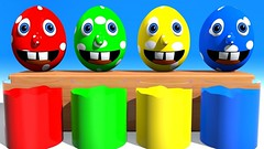 Mr Eggie Is Jumping To The Colored Liquid (Hoàng Đồng) Tags: c childrencolorslearning colorslearning eastereggs funnylearning learn learningvideos manycolors paintandcolors teachcolors teachcolours