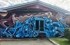 The first graffiti mural in the city of Preissac in Abitibi. Brickman takeover the building! #korb #korbgraffiti #graffitimural #graffitiart #graffiti #brickman #mtn #mtn94 #mtncolors #mural #blue #crazyapes #crazyapescrew (korb.art) Tags: korb korbgraffiti graffitimural graffitiart graffiti brickman mtn mtn94 mtncolors mural blue crazyapes crazyapescrew