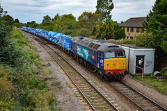 57007 - March West Junction - 28/08/18. (TRphotography04) Tags: direct rail services 57007 passes march west junction working 6z21 0958 york thrall europa stowmarket dglthe train normally runs around end september delivering autumn rhtt sets anglian region ran month earlier however due this years hot weather published the railway magazine october 2018 issue
