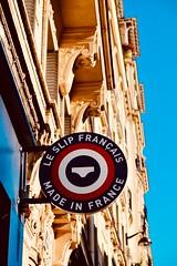 Le Slip Français, pourquoi pas!?! (joanne clifford) Tags: lingerie store french france panties panty boxers briefs xf1855 fujifilmxt20 underpants signage madeinfrance signs sign boutique silk paris underwear leslipfrançais