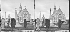 Graveyards, memorials of Robt. Potter MP for Limerick, Fitzgerald of Garryowen, etc. church in background, Limerick City, Co. Limerick (National Library of Ireland on The Commons) Tags: thestereopairsphotographcollection lawrencecollection stereographicnegatives jamessimonton frederickhollandmares johnfortunelawrence williammervynlawrence nationallibraryofireland mountstlawrencesgraveyard limerick city robertpottermp gravestones memorials church countylimerick potter fitzgerald graves limerickbyoaktreebrian robertpotter
