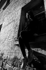 Tanya (selchukov) Tags: blackandwhite bw bwportrait streetbw canon markii