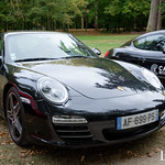 20181007 - Porsche 911 (997-2) Carrera 4S 385cv - N(2899) - CARS AND COFFEE CENTRE - Chateau de Chenonceau thumbnail