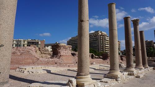The Roman Baths, the Kom al-Dikka Complex, Alexandria