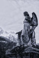 Angel of the Mountains (drugodragodiego) Tags: angel angelo mountains statua statue scultura cemetery cimiterovecchio bagolino valledelcaffaro vallesabbia provinciadibrescia lombardia tomba grave pentax pentaxk1 k1 pentaxdfa2470mmf28 hdpentaxdfa2470mmf28edsdmwr
