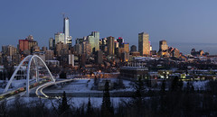 Dawn, Dec 9 - 2018 (Mister Day) Tags: dawn daybreak winter skyline edmonton cityscape alberta morning lowlight