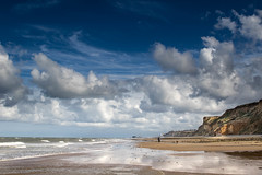 East Runton Beach (andybam1955) Tags: eastrunto landscape bigsky coastal sky northnorfolk rural cromer norfolk sea