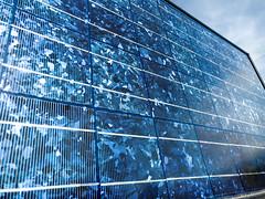 Solar Panel for Solar Fountain 1 (evenkolder) Tags: cern dipole magnet oneplus6 lightroom lightroomforandroid meyrin geneva switzerland solarpanel solar fountain blue