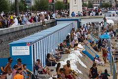 Plage sous concession (flotographe13) Tags: olonne sablesdolonne vendée cabines plage beach urbanscenery