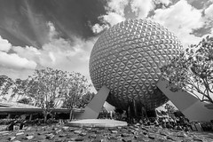 Spaceship Earth - Epcot (myfrozenlife) Tags: orlando epoct disneyworld waltdisneyworld travel canon vacation america trip unitedstates usa canon5d holiday florida us