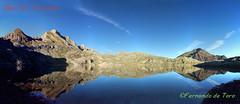 Ibon de Estanés (F de Toro) Tags: anso aragon huesca jacetania landscape mountain paisajes panoramica pirineo reflejos spain españa montaña