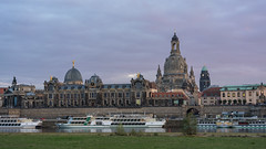 Skyline of the old town of Dresden (Pascal Riemann) Tags: dresden fluss deutschland altstadt sachsen architektur elbe architecture germany river saxony historiccity oldtown
