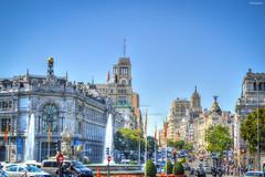 Madrid street view (M Malinov) Tags: madrid spain capital streetview street city cityscape cityview мадрид испания град столица buildings europe eu европа
