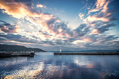 Trondheim, Norway 004 - Sunset by the Ocean (IVAN MAESSTRO) Tags: trondheim norway sunset sunrise sea ocean canon sony maesstro landscape water reflections hdr