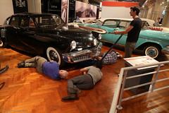 In the museum (Maurits van den Toorn) Tags: car auto oldtimer classiccar tucker museum fordmuseum usa americana