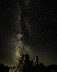 Milky Way over Tufas 2 (Patrick Dirlam) Tags: easternsierra trips monolake moonandsky tufas milky way
