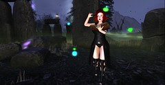 Witching Hour (MrsSeren Resident) Tags: witchinghour witch spooky halloween secondlife nighttime night haunting