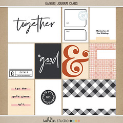 Gather (journal cards) by Sahlin Studio (somethingwilde) Tags: sahlinstudio thanksgiving gather family autumn fall october november