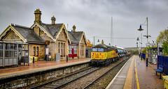 56094 at Shirebrook Station (robmcrorie) Tags: shire brook station depot robin hood line nikon d850 train rail railway railfan