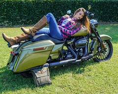 Pink Plaid long Sleeve- $60 Harley T-Shirt- $40 Brown Boots on Clearence- $90 #breastcancerawareness #harley #harleydavidson #motorad #work #findyourfreedom #baysidehd #hd (baysidezhd) Tags: harleydavidson motorcycle motorcycles riding harley moto