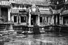 180726-110 Gallerie (clamato39) Tags: angkor angkorwat cambodge cambodia asia asie temple voyage trip religieux religion historique historic history ancient ancestrale patrimoine noiretblanc blackandwhite bw monochrome building