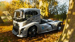 10-12-2018_12-43-03_AM (Brokenvegetable) Tags: forza horizon 4 turn10studios microsoft playground games videogame photomode photography volvo iron knight semi truck racing