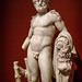 Herakles (Hercules) Roman 100-200 CE Marble with traces of pigment (4)