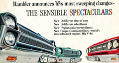 1965 American Motors Amabassador Classic and American (coconv) Tags: car cars vintage auto automobile vehicles vehicle autos photo photos photograph photographs automobiles antique picture pictures image images collectible old collectors classic ads ad advertisement postcard post card postcards advertising cards magazine flyer prestige brochure dealer 1965 american motors amabassador range amc rambler