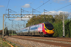 Business is Great... (Treflyn) Tags: virgin trains west coast class 3901 390 tilt tilting pendolino 390151 businessisgreat branding speed heamies farm north norton bridge london euston glasgow central service