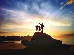 L.A Fourbe' (G.Billon) Tags: groupenuagesetciel cameraphone iphoneography iphone ombres webelongtothesea beach landscape sunset plage îleetvilaine gbillon bzh breizh bretagne saintlunaire lafourberie