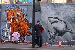 Shoreditch Street Art. (scats21) Tags: