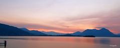 """Lago Maggiore, """"ecco già l'alba appare..."""" (hmeyvalian) Tags: lagomaggiore bavenostresa piemonte alba colori italia italie italy sunrise leverdusolei"""